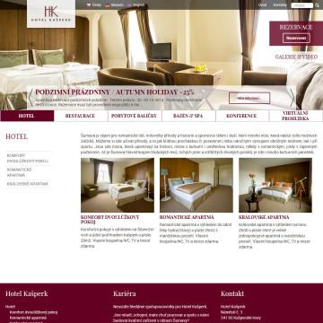 Hotel Kašperk - pokoje