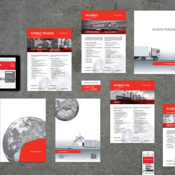 Webové stránky jsou navrhovali jako součást nové vizuální identity skupiny CARGO