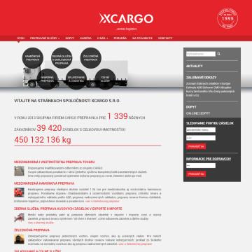 XCARGO - úvodní stránka