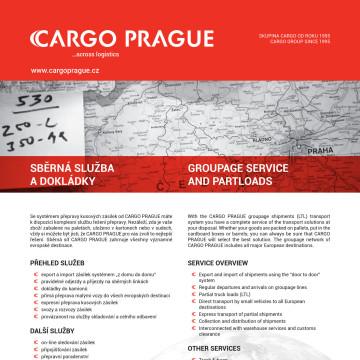 CARGO PRAGUE - ukázka katalogového listu