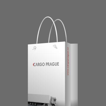 CARGO PRAGUE - reklamní papírová taška