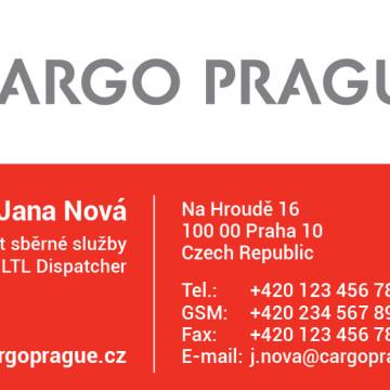 CARGO PRAGUE - vizitka
