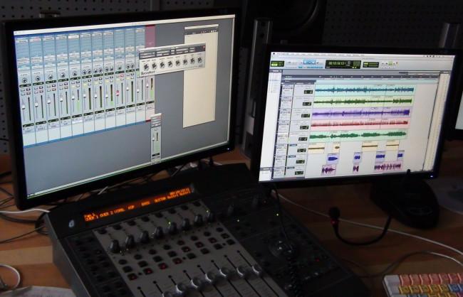 Dabing, nahrávací studio, ozvučení