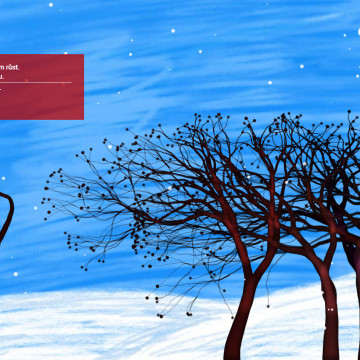 Digitální novoročenka CZMI 2015 - každým kliknutím vyroste strom