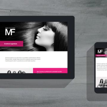 MISS FACTORY - responzivní web