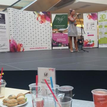 Martina Pártlová na semifinále Miss Face 2015 za podpory CZECH MULTIMEDIA INTERACTIVE