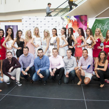 Semifinále Miss Face 2015 za podpory CZECH MULTIMEDIA INTERACTIVE