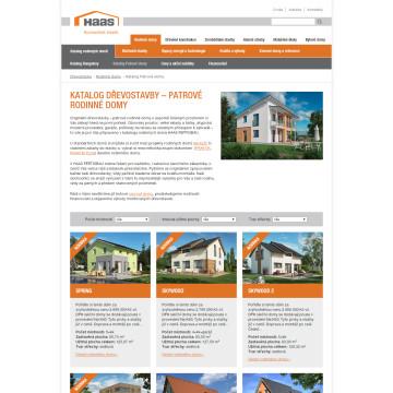 Haas Fertigbau - katalog domů