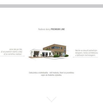 Microsite dřevostavby Premium Line - 2