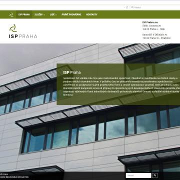 ISP Praha - úvodní stránka