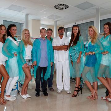 Miss Face 2015 - Neonatologie Bulovka - finalistky