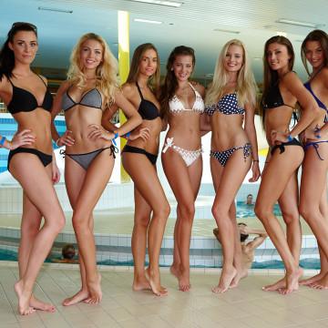 Miss Face 2015 - Šutka aquapark - finalistky