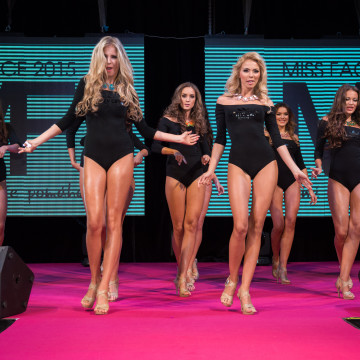 Finále Miss Face 2015 - choreografie finalistky