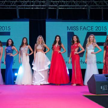 Finále Miss Face 2015
