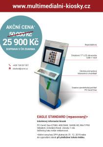 Doprodej kiosků EAGLE STANDARD