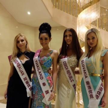 Zahraniční soutěž - Natálie v Číně