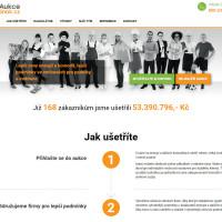 Aukcejinak.cz - úvodní strana