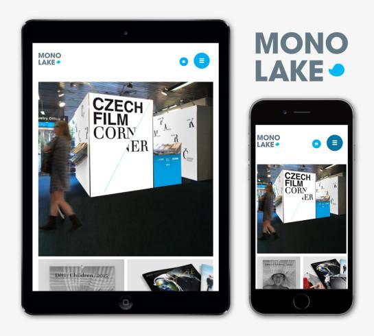 Responzivní webová prezentace Monolake