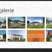 Webová prezentace ABC dřevostavby fotogalerie