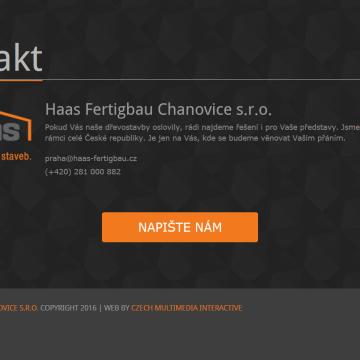 Webová prezentace ABC dřevostavby HAAS FERTIGBAU