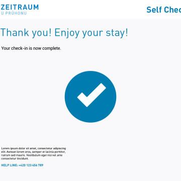 Software pro samoobslužné hotely