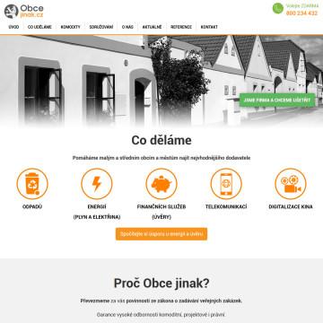 Obcejinak.cz - úvodní strana