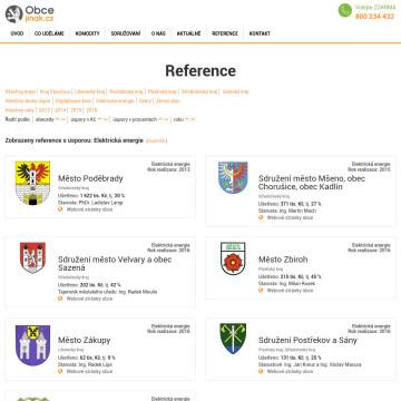 Obcejinak.cz - reference s filtrováním a tříděním podle různých kritérií