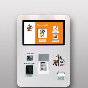 Platební automat Žirafka